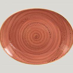 Fuente Oval Coral 32 cm