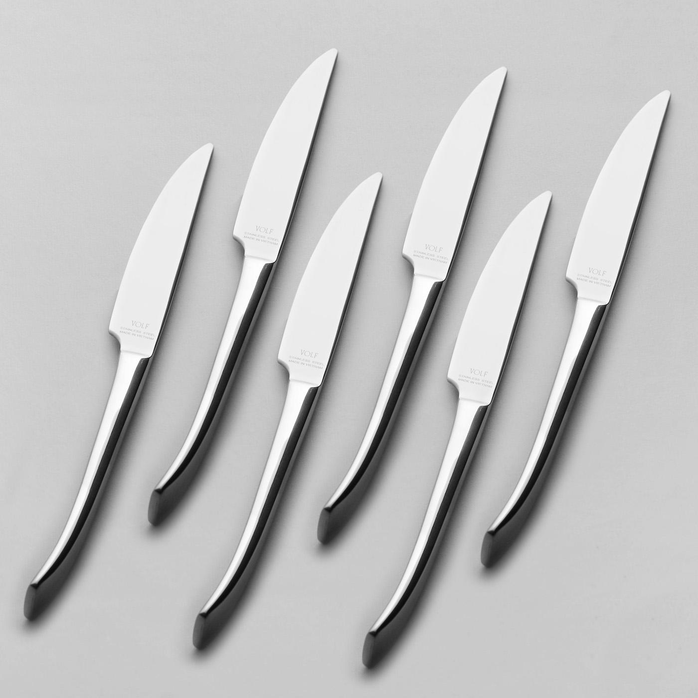 Cuchillo de Carne Vechio - Set X6