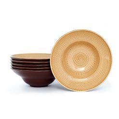 Pasta Bowl Twirl Arena 23 cm - Set x6