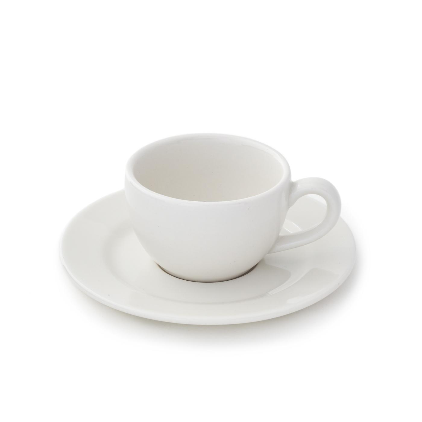 Taza de Café con Plato Banquet - Set X6