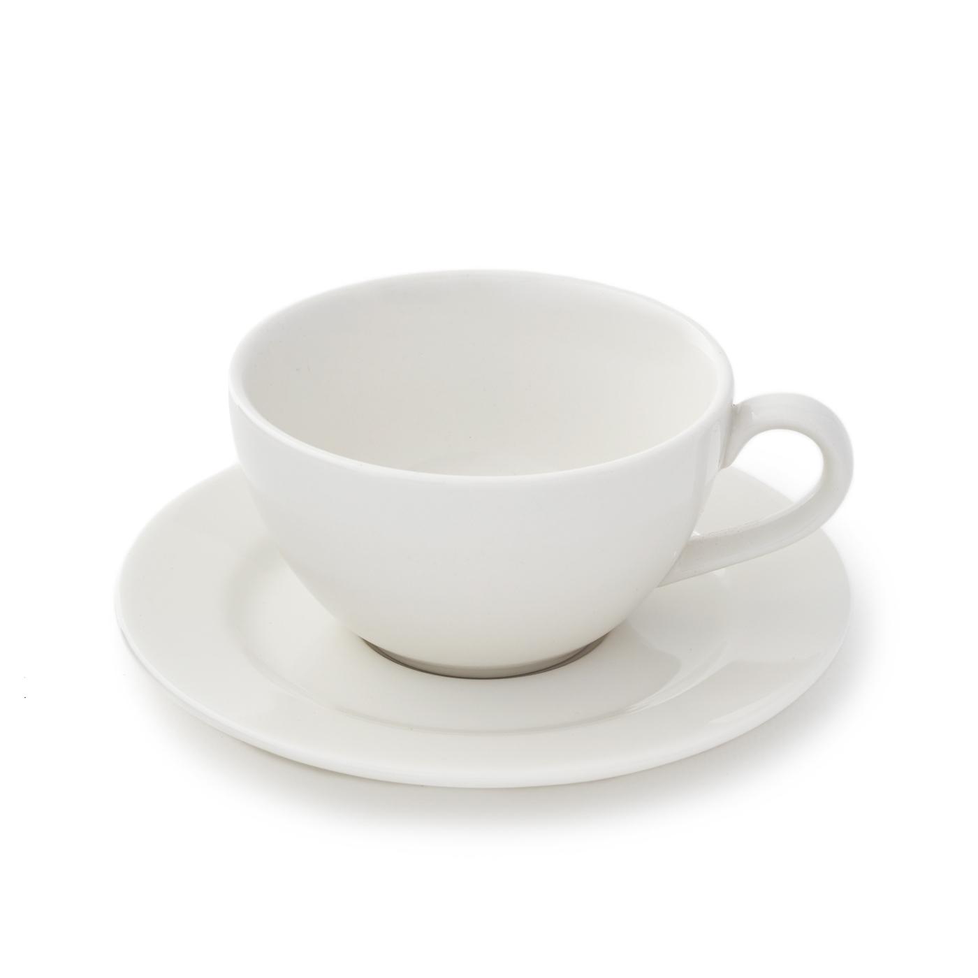 Taza de Té con Plato Banquet - Set X6