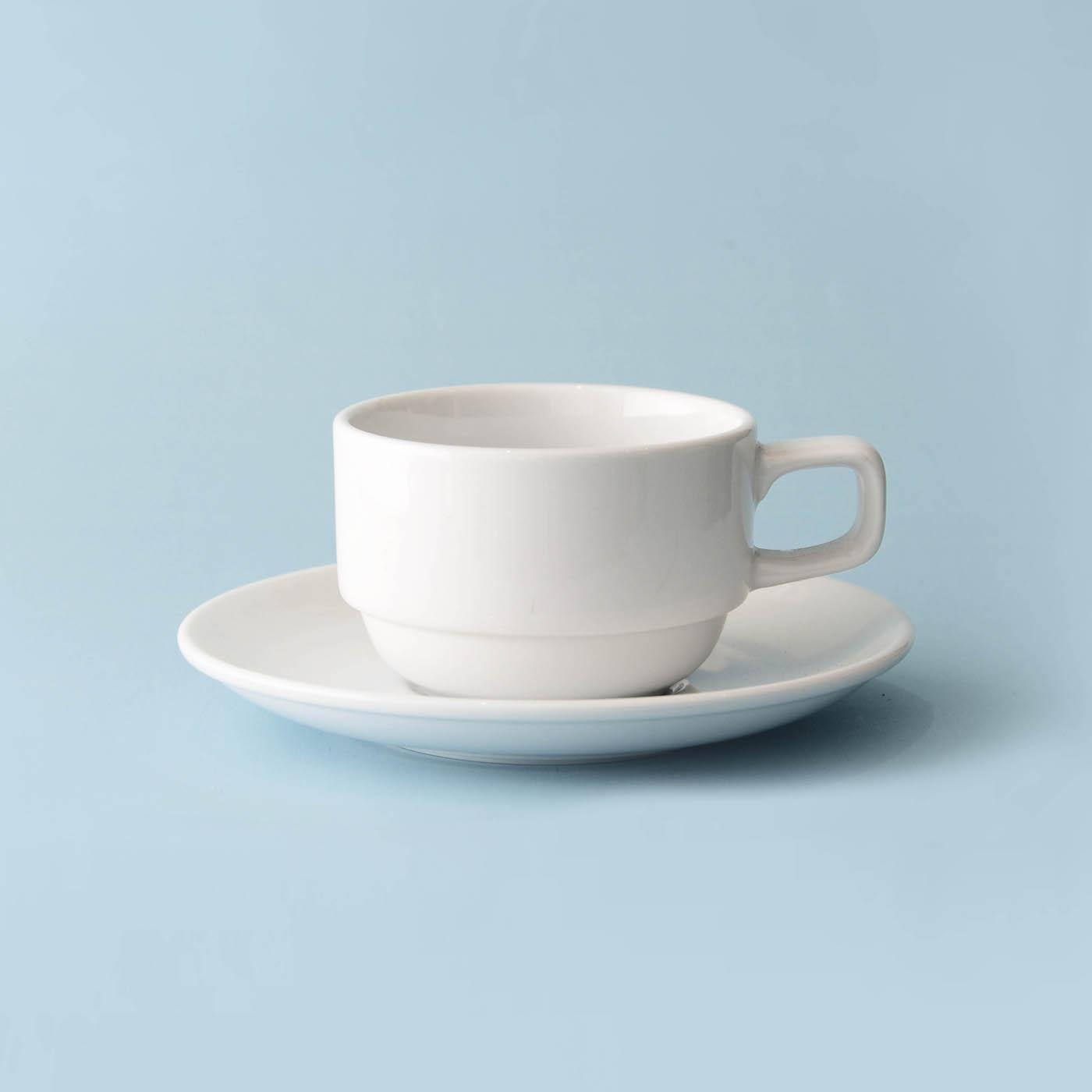 Taza de Té con Plato Ultra - Set X6